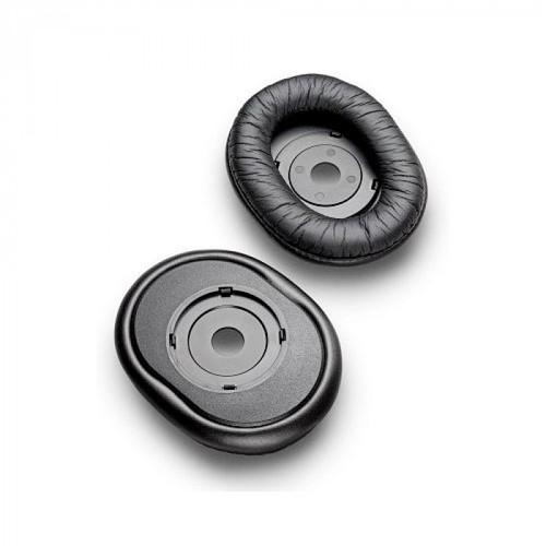 Plantronics Circumaural Ear Cushions.  Compatible with corded headset models:  HW251/HW251N, HW261/HW261N, HW510, HW520