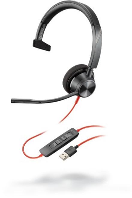 Blackwire BW3310 USB A corded single ear headset