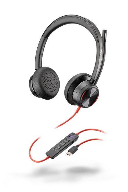 Blackwire 8225 USB-C corded headset UC