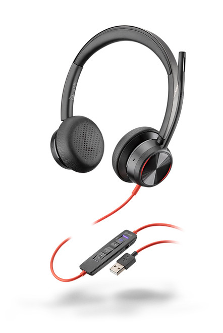 Blackwire 8225 USB-A corded headset MS Teams