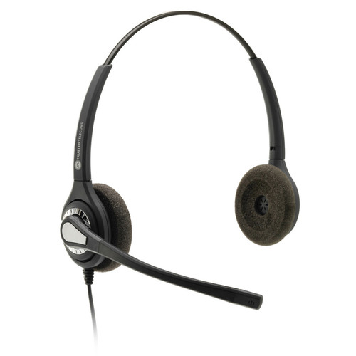 JPL-402-PB Dual Ear Headset, NC, QD (575-095-002) quick disconnect