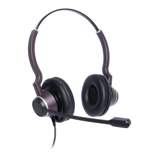 JPL Connect 2 Dual Ear Headset, NC, QD (575-273-002). Thick leatherette ear cushions. Wideband with Surround Shield.