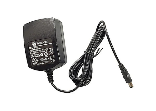 Poly Universal AC Power Adapter (2200-48560-001).  Compatible With: Poly VVX 301, VVX311, VVX401, VVX411, VVX501, VVX601