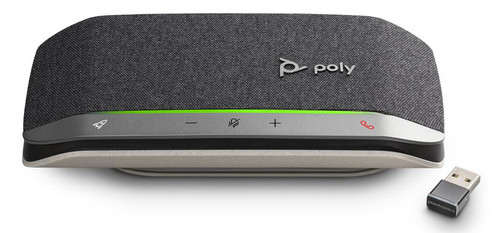 Poly Sync 20+ USB-C/BT600C Desktop Speakerphone-Microsoft (216871-01) (SY20-M USB-C/BT600C)