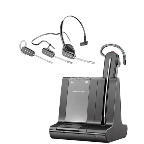 Poly Savi S8240-M CDM Wireless Headset (210979-01) (S8240 CDM) Microsoft