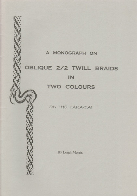 Oblique 2/2 Twill Braids in Two Colours
