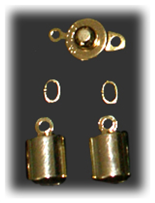 Gold Clasp Set - 4.9mm