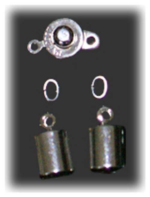 Silver Clasp Set - 4.9mm