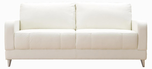 Jaymar Brasilia Apartment Sofa available in leather, fabric, or microfiber.