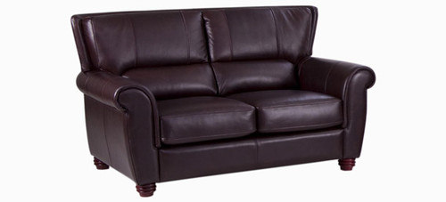 Jaymar Champlain Loveseat available in leather, fabric, and microfiber.