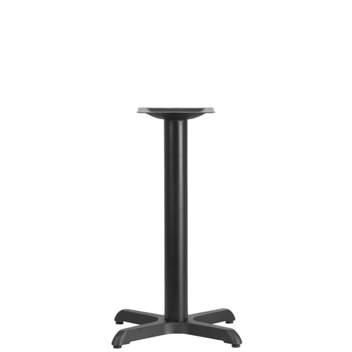 Flash Furniture | 22'' x 22'' Restaurant Table X-Base with 3'' Dia. Table Height Column