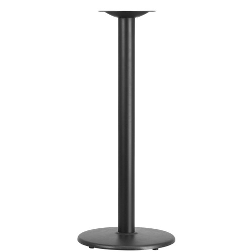 Flash Furniture | 18'' Round Restaurant Table Base with 3'' Dia. Bar Height Column