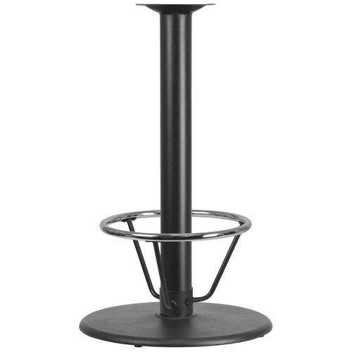 Flash Furniture | 24'' Round Restaurant Table Base with 4'' Dia. Bar Height Column and Foot Ring