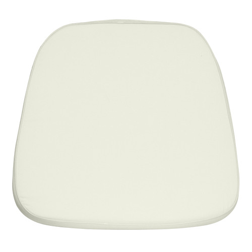 Flash Furniture | Soft Ivory Fabric Chiavari Chair Cushion