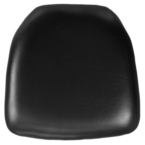 Flash Furniture | Hard Black Vinyl Chiavari Chair Cushion