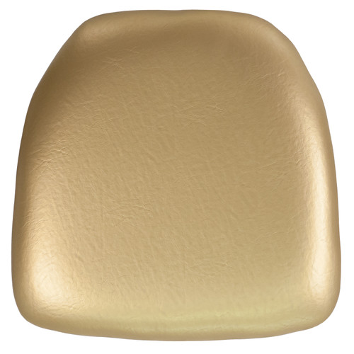 Flash Furniture | Hard Gold Vinyl Chiavari Chair Cushion