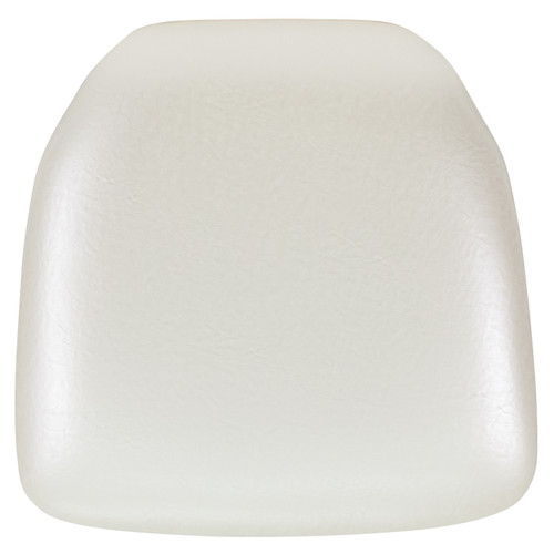 Flash Furniture | Hard Ivory Vinyl Chiavari Chair Cushion