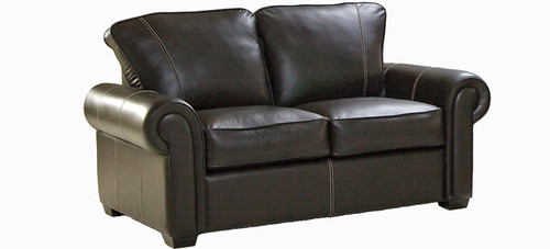 Jaymar Felix Loveseat is available in high quality leather, fabric, or microfiber.