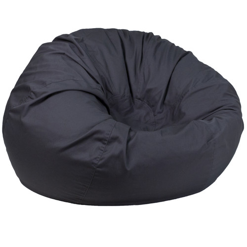 Flash Furniture | Oversized Solid Gray Bean Bag Chair