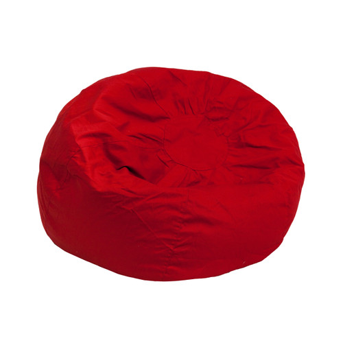 Flash Furniture | Small Solid Red Kids Bean Bag Chair