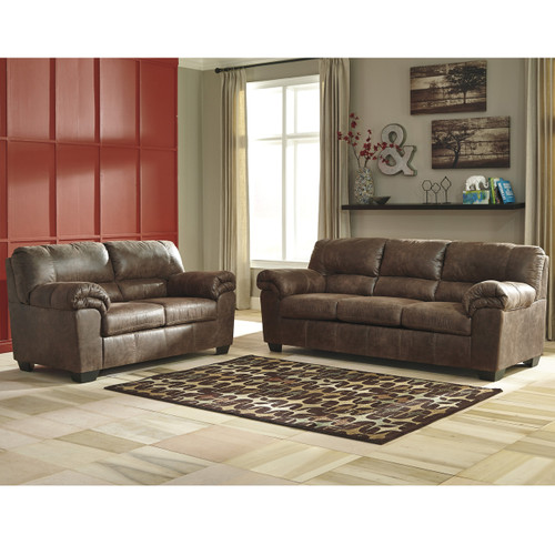 Flash Furniture | Signature Design by Ashley Bladen Living Room Set in Coffee Faux Leather