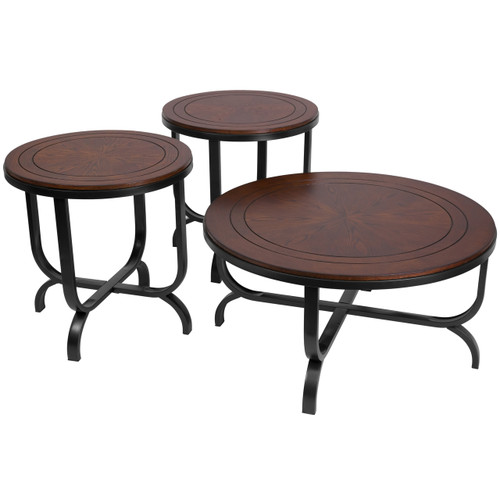 Flash Furniture | Signature Design by Ashley Ferlin 3 Piece Occasional Table Set