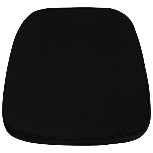 Flash Furniture | Soft Black Fabric Chiavari Chair Cushion