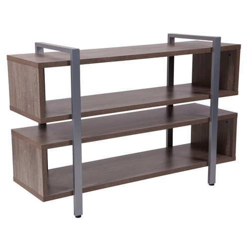 Flash Furniture | Harrison Rustic Wood Grain Finish TV Stand and Media Console