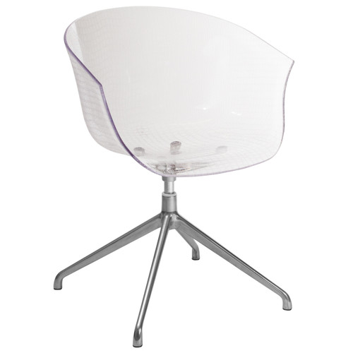 Flash Furniture | Clear Acrylic Contemporary Reception Chair