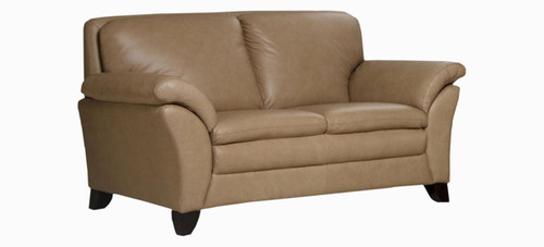 Jaymar Garbo Loveseat is available in high quality leather, fabric, or microfiber.