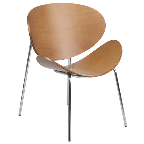 Flash Furniture | Beech Bentwood Leisure Side Reception Chair