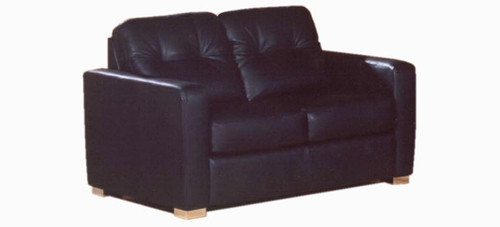 Jaymar High Point Loveseat is available in high quality leather, fabric, or microfiber.