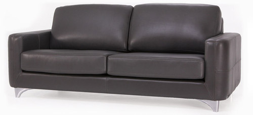 Jaymar Kinsey Apartment Sofa is available in high quality leather, fabric, or microfiber.