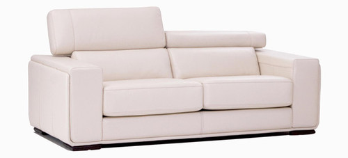 Jaymar Maggy Apartment Sofa is available in high quality leather, fabric, or microfiber.