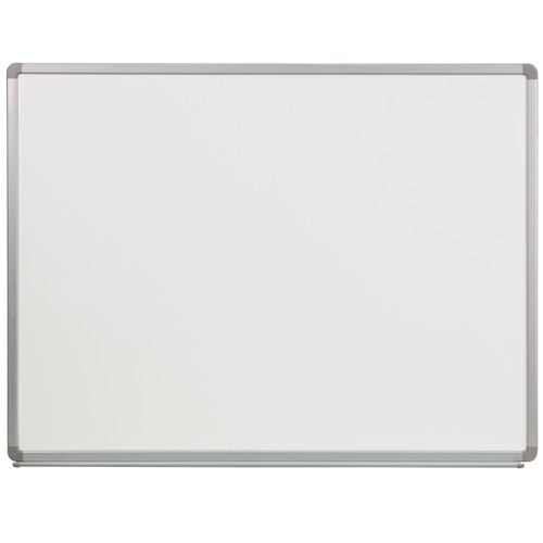 Flash Furniture | 4' W x 3' H Porcelain Magnetic Marker Board