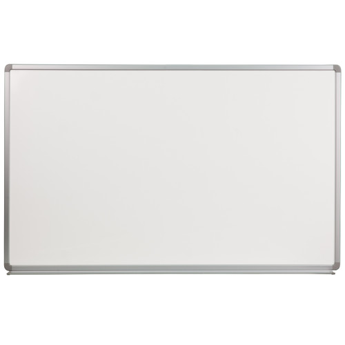 Flash Furniture | 5' W x 3' H Porcelain Magnetic Marker Board