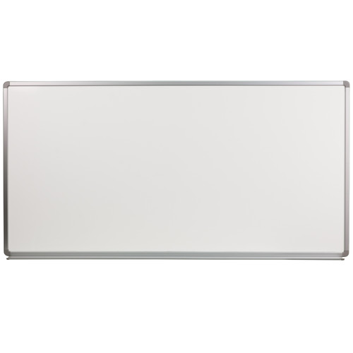 Flash Furniture | 6' W x 3' H Porcelain Magnetic Marker Board