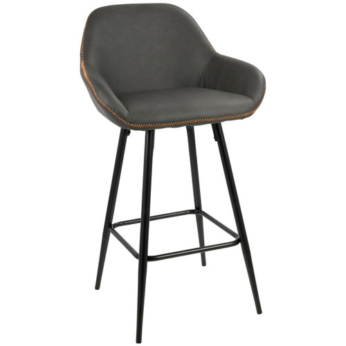 LumiSource   Clubhouse Counter Stool - Set of 2