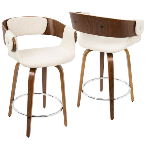 LumiSource | Elisa Counter Stool - Set of 2