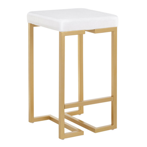 LumiSource | Midas Counter Stool - Set of 2