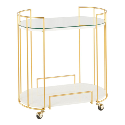 LumiSource | Canary Bar Cart