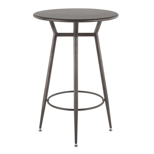 LumiSource | Clara Round Bar Table
