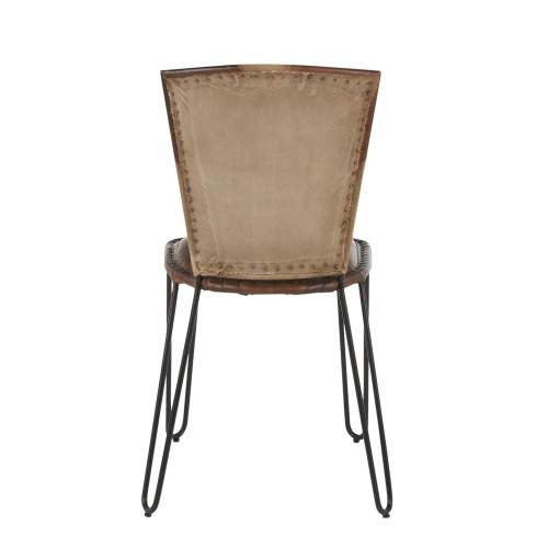 LumiSource | Ali Dining Chairs - Tan Canvas