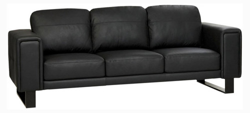 Jaymar Seville Sofa is available in high quality leather, fabric, or microfiber.