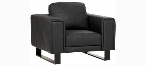 Jaymar Seville Chair is available in high quality leather, fabric, or microfiber.