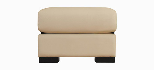 Jaymar Sienna Ottoman is available in high quality leather, fabric, or microfiber.