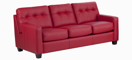 Jaymar Todd Sofa is available in high quality leather, fabric, or microfiber.