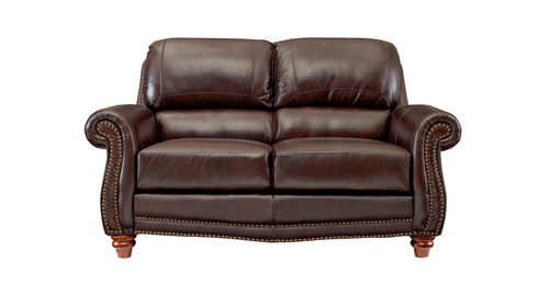 Leather Italia USA | James Loveseat