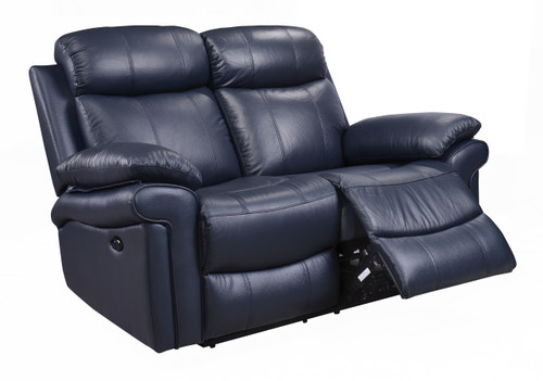 Leather Italia USA | Joplin Power Loveseat