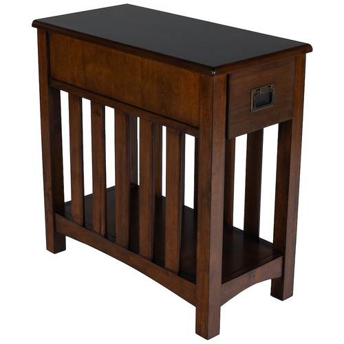 Butler Specialty Company   Larina Shaker Wood Chairside Table